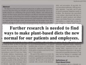 Kaiser Permanente recommends plant-based diets | Meat Your Future