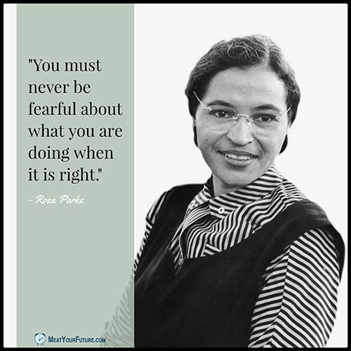 a biography of rosa louise parks a civil rights leader Rosa louise mccauley parks was born on february 4, 1913 in tuskegee, ala, and became an iconic symbol of the civil rights movement in the 50s after she refused to give up her bus seat in.