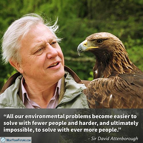 Sir David Attenborough | Meat Your Future