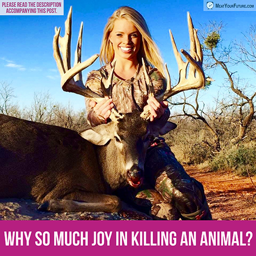 "Why So Much ""Joy"" in Killing an Animal? 