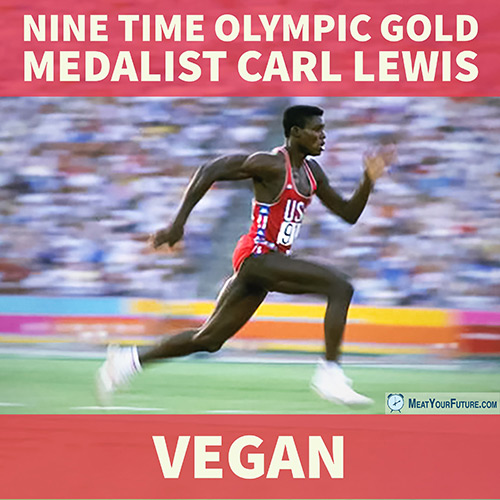 Carl Lewis | Meat Your Future
