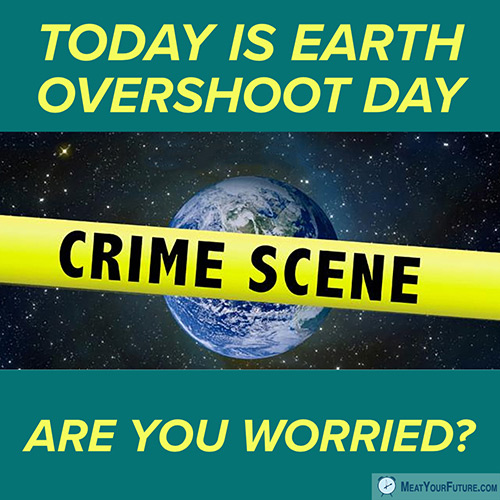 Earth Overshoot Day 2018 | Meat Your Future