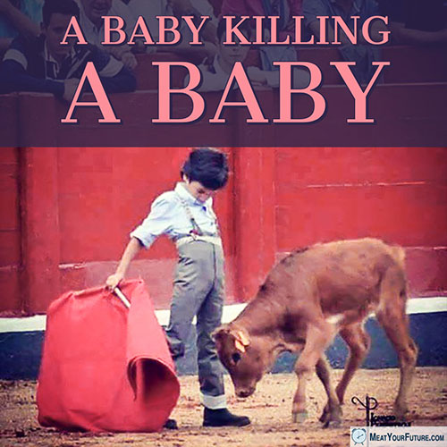 A Baby Killing a Baby | Meat Your Future