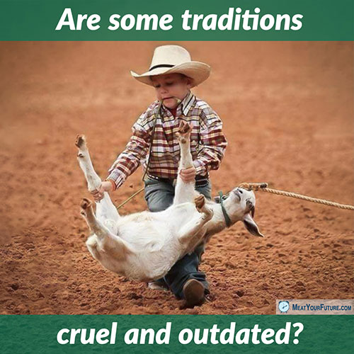 Are Some Traditions Cruel and Outdated? | Meat Your Future
