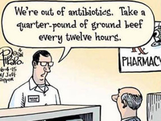 Worried About Antibiotic Overuse? Then Go Vegan | Meat Your Future