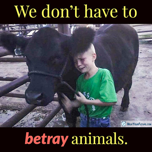 We Don't Have to Betray Animals | Meat Your Future